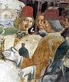 Palazzo schifanoia, salone dei mesi, 03 marzo (f. del cossa), borso alla caccia e amministrat. di giustizia 03 borso 2.jpg
