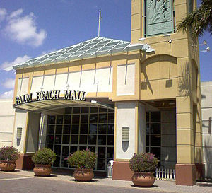 Palm Beach Outlets - The former mall's main entrance