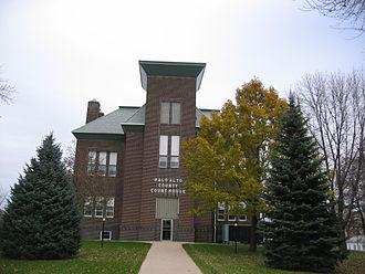 Palo Alto County, Iowa - Image: Palo Alto County IA Courthouse
