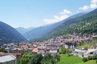 Vezza dOglio Comune in Lombardy, Italy
