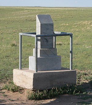 Panorama Point - Image: Panorama Point, Nebraska monument