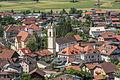 Panorama Zams, Kath. Pfarrkirche hl. Andreas mit freistehendem Turm-248.jpg