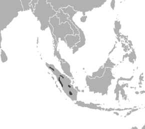 Description de l'image Panthera tigris sumatrae distribution map 2.png.