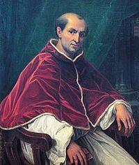 Portrait du pape Clément V.