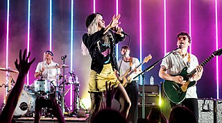 Paramore American pop punk band
