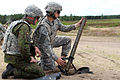 Paratroopers with 173rd Airborne Brigade fire javelins and mortars with Lithuanian forces 140621-A-NM804-968.jpg