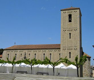 Parets del Vallès - Sant Esteve's church in Parets del Vallès