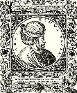 Pargalı Ibrahim Pasha 29º Ottoman Grand Vizier