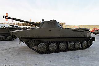 PT-76 Type of Amphibious Light tank