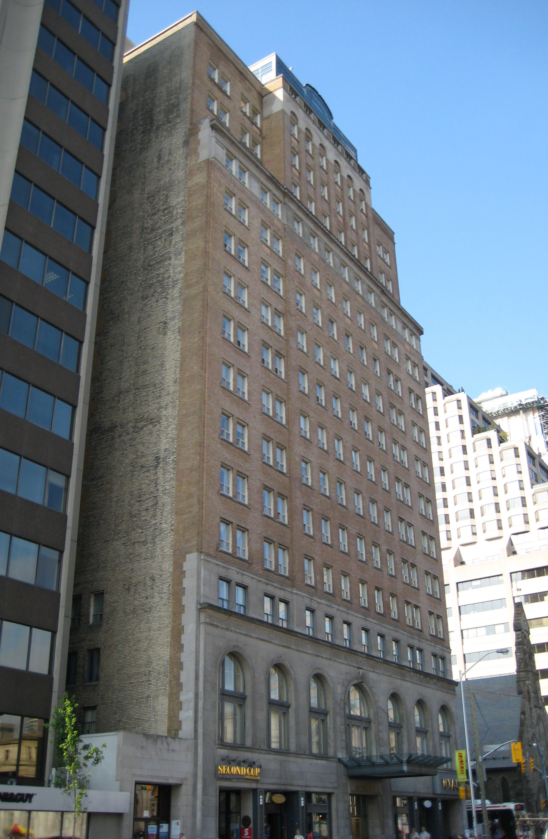 Toronto Plaza Hotel Number