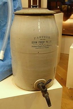 Pasteur Germ Proof Filter, c. 1890, Pasteur-Chamberland Filter Co., Dayton, Ohio - Museum of Science and Industry (Chicago) - DSC06633
