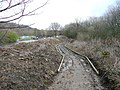 Path under construction, Freeman's Cut, Southowram - geograph.org.uk - 724146.jpg
