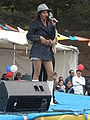 Patricia Javier performing at 14th AF-AFC 21.JPG