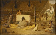 PaulKane - A Woman Weaving a Blanket (ROM2005 5163).jpg