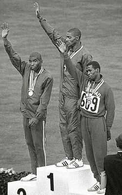 Paul Drayton, Henry Carr, Edwin Roberts 1964.jpg