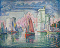 Paul Signac, 1921, Entrée du port de la Rochelle, oil on canvas, 130.5 x 162 cm, Musée d'Orsay.jpg