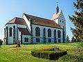 Dorfkirche Paußnitz (church (with furnishings), churchyard and enclosure including an integrated earth cellar)