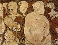 Pavimento di siena, marcia del popolo ebraico verso la terra promessa (beccafumi) 02.jpg