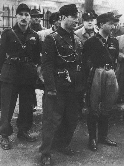 Pavolini and Costa, Milan, 1944