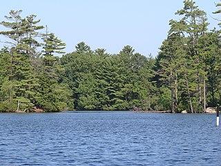 Pawtuckaway Lake lake of the United States of America
