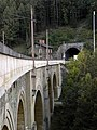 Payerbach - KG Pettenbach - Semmeringbahn - Höllgraben-Viadukt - Pettenbachtunnel und Bahnwärterhäuschen.jpg