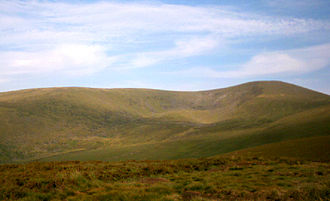 Glen of Imaal - Lugnaquilla forms the eastern boundary of the Glen of Imaal