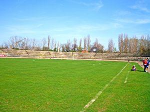 Stadionul Municipal (Brăila) - Image: Peluzabr