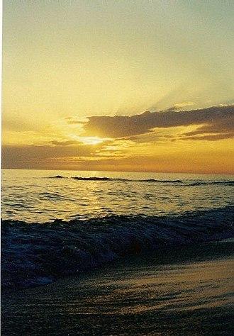 Pensacola Beach, Florida - Pensacola Beach at sunset