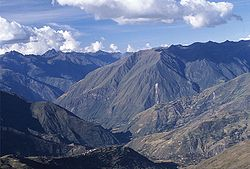 The Andes in the Ayacucho Region