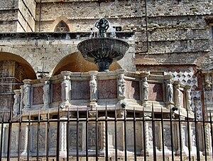 Fontana Maggiore - The Fontana Maggiore.