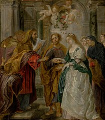 The Betrothal of the Virgin Mary