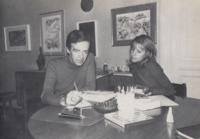 Peter e Caterina Kolosimo Torino 1972-73.png