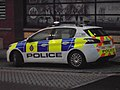 Peugeot 308 of the West Yorkshire Police, Leeds Central Police Station (16th March 2018) 002.jpg