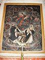 Pezzolo Valle Uzzone. Gorrino Parrocchiale. La Madonna del Rosario con i santi Domenico di Guzman e Caterina da Siena.jpg