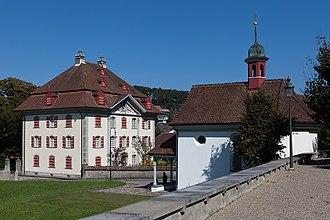 Pfaffnau - Image: Pfaffnau Pfarrhaus K
