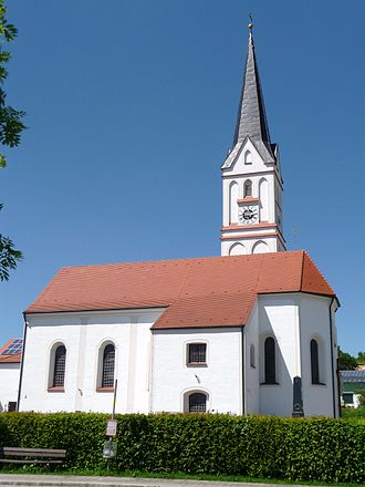 Furth, Lower Bavaria - Church in Furth