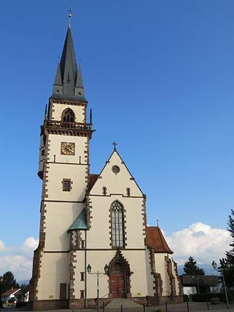 Großweier - Parish Church of St. Martin