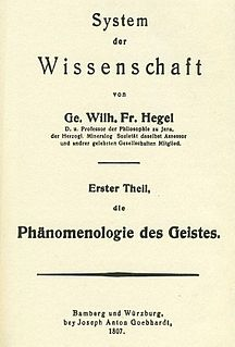 book by Georg Wilhelm Friedrich Hegel