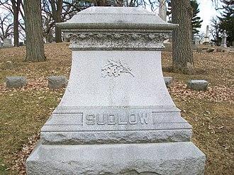 Phebe Sudlow - Image: Phebe Sudlow Grave