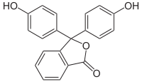 Phenolphthalein, farblose Form