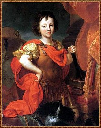 Philippe II, Duke of Orléans - Philippe in 1686 by Nicolas de Largillière
