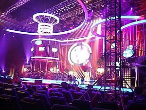 Philippine Idol - The Philippine Idol stage, which was set up on SM Megamall Cinema 3
