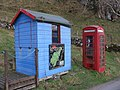 Phone Kiosk and Information Board, Isle of Kerrerra - geograph.org.uk - 1746882.jpg
