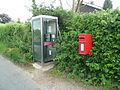Phone and post box - geograph.org.uk - 831724.jpg