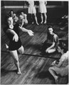 Photograph of Betty Bloomer in a Bennington College Summer School of the Dance Class - NARA - 187064.tif