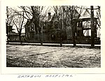 Photograph of the exterior of the building used as a hospital during the First World War for airmen injured during training at Camps Rathbun and Mohawk. The house was on Main Street, Deseronto, (5492271027).jpg