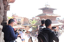 Photowalk during Wiki loves Monuments 2018 Nepal 01.jpg