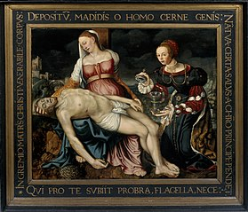 Pietà with Mary Magdalene