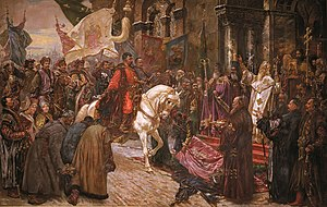 Cossack Hetmanate - Hetman Bohdan Khmelnytsky's triumphal entry to Kiev in 1648