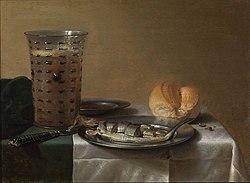 Pieter Claesz: Breakfast Piece